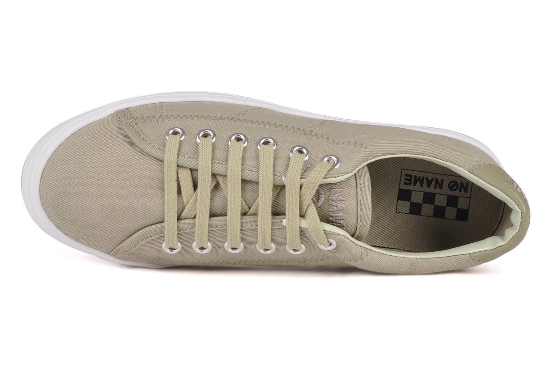 Baskets No Name Plato Sneaker Beige vue gauche