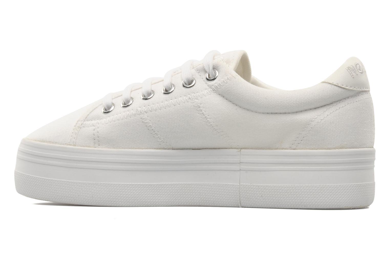 Sneakers No Name Plato Sneaker Wit voorkant