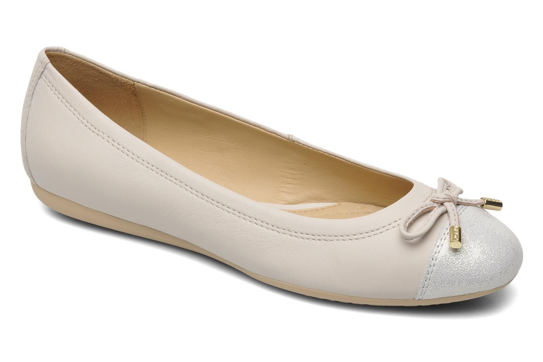 Geox D LOLA D93M4A (beige) Ballerinas chez Sarenza (165826)