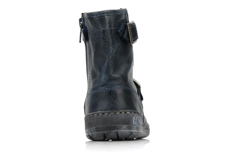 Boots en enkellaarsjes Palladium Botto Blauw rechts