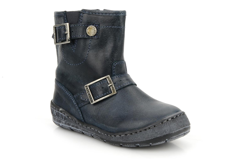 Boots en enkellaarsjes Palladium Botto Blauw detail