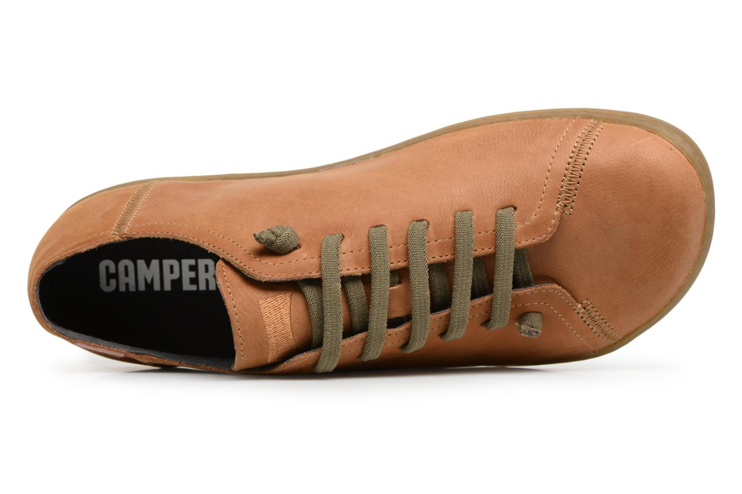 Trainers Camper Peu Cami Brown view from the left