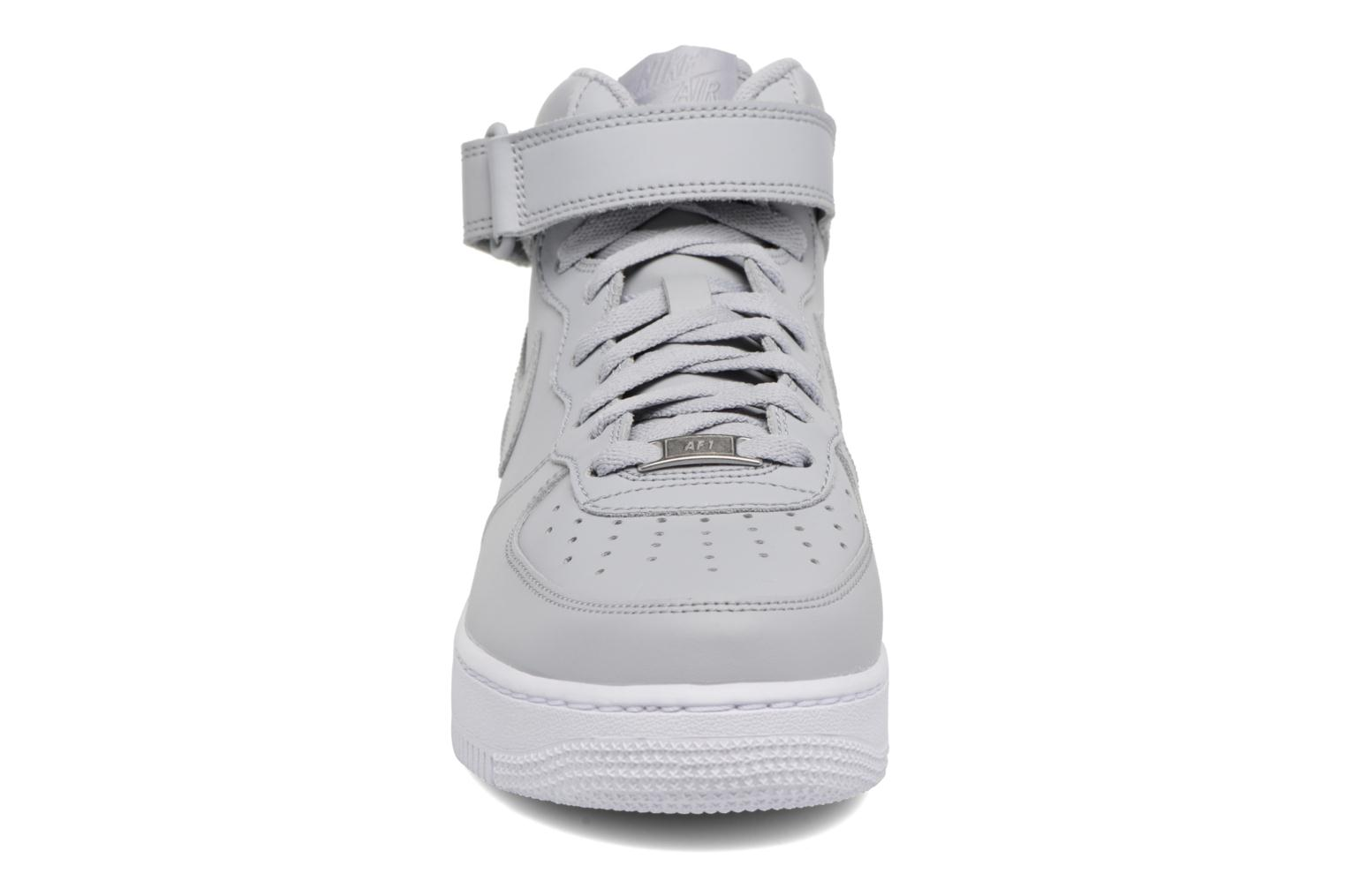 Trainers Nike Air Force 1 Mid Grey model view