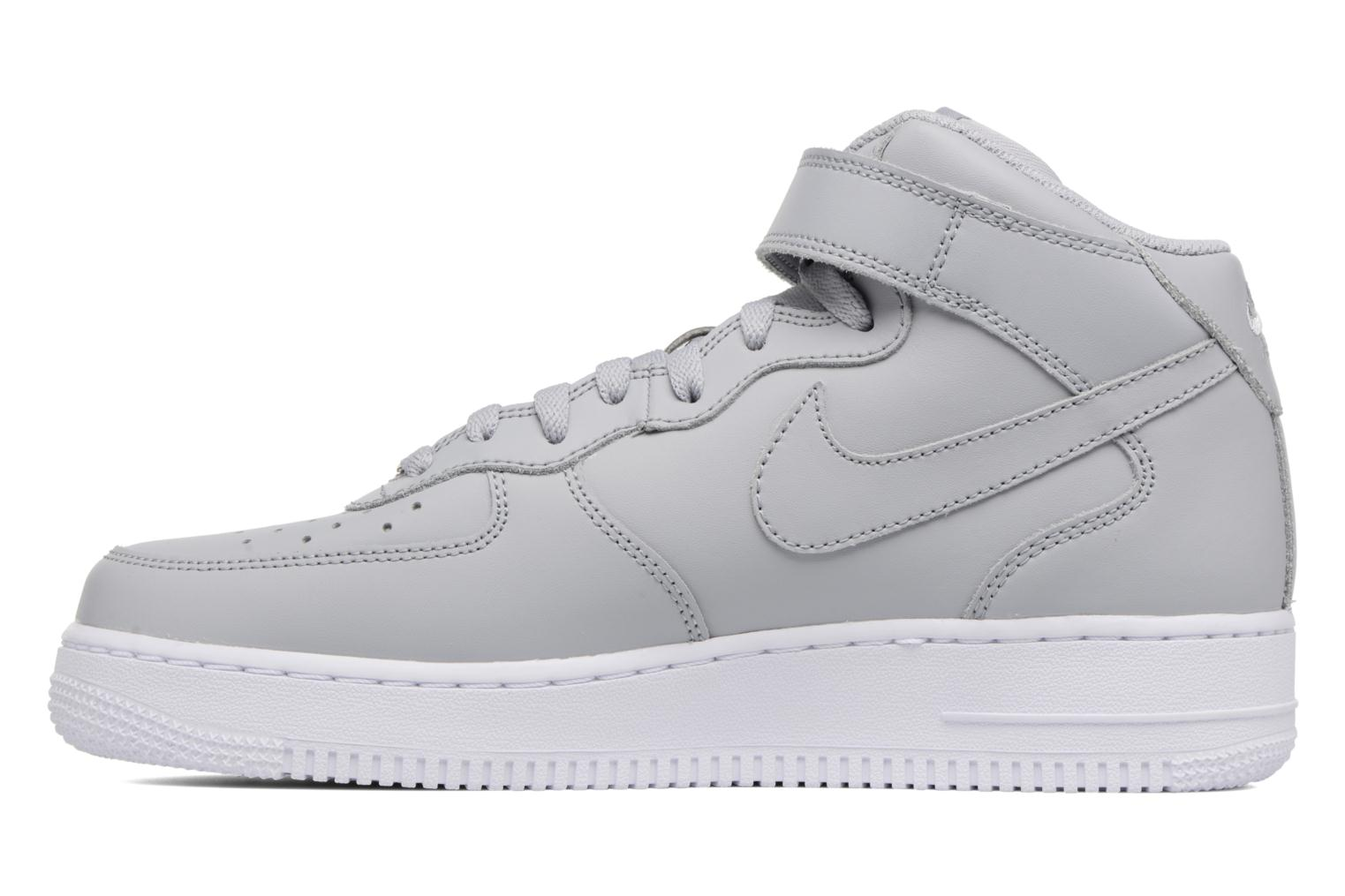 Trainers Nike Air Force 1 Mid Grey front view