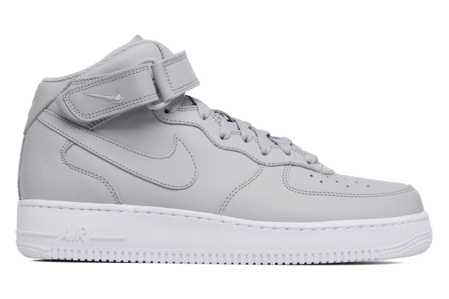 Trainers Nike Air Force 1 Mid Grey back view