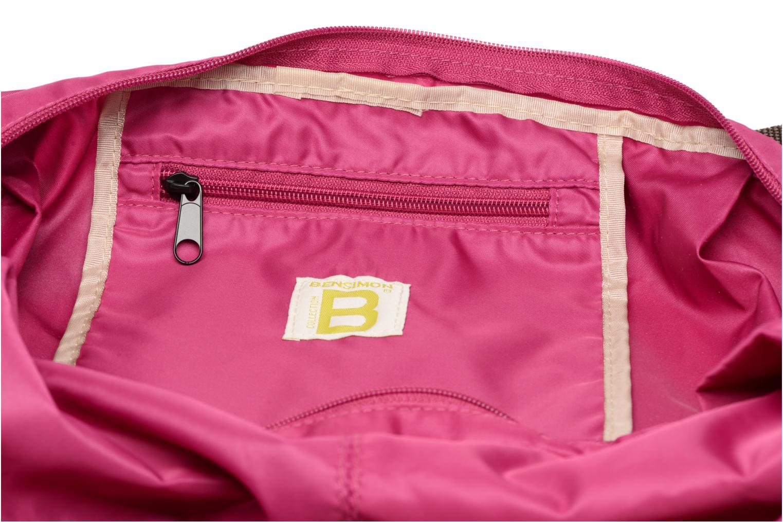Sporttassen Bensimon Shoulder Bag Roze achterkant