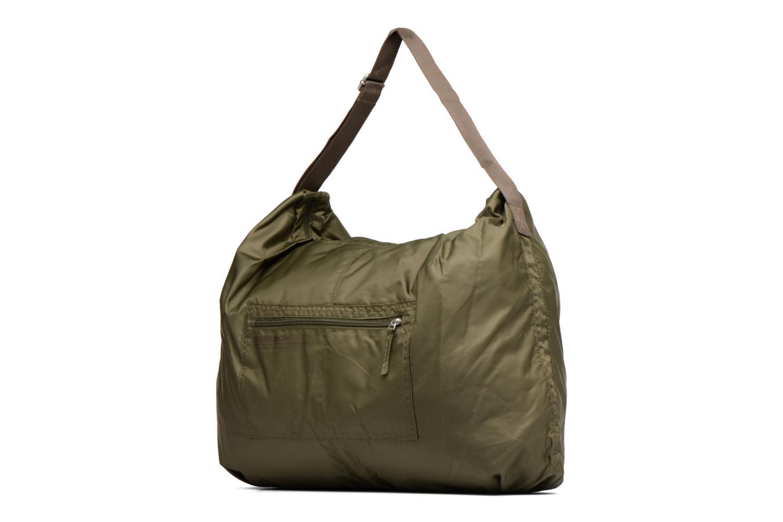 Sporttaschen Bensimon Shoulder Bag grün schuhe getragen