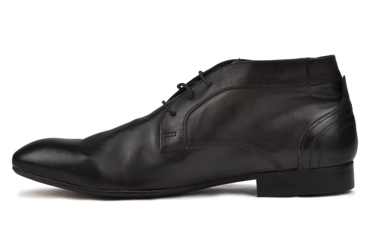 Lace-up shoes H by Hudson Thursom Brown front view