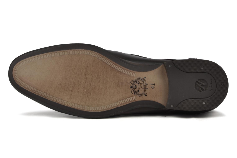 Chaussures à lacets H By Hudson Thursom Marron vue haut