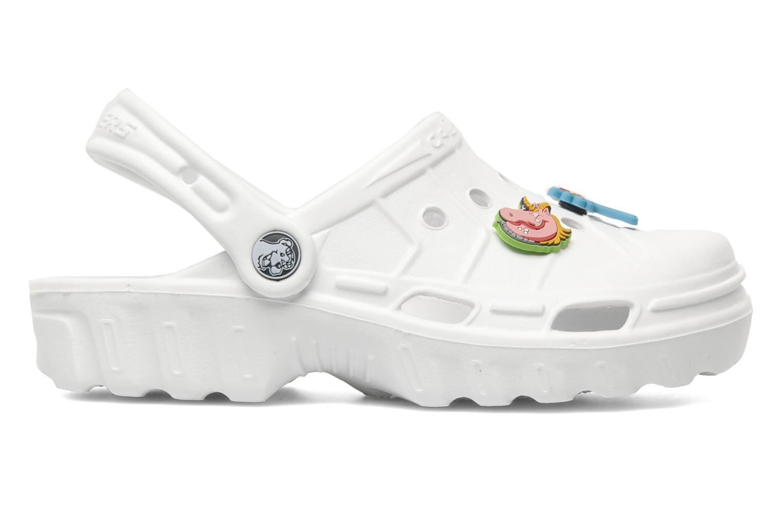 Sandalen Skechers Cali Gear Whirlies E Wit achterkant