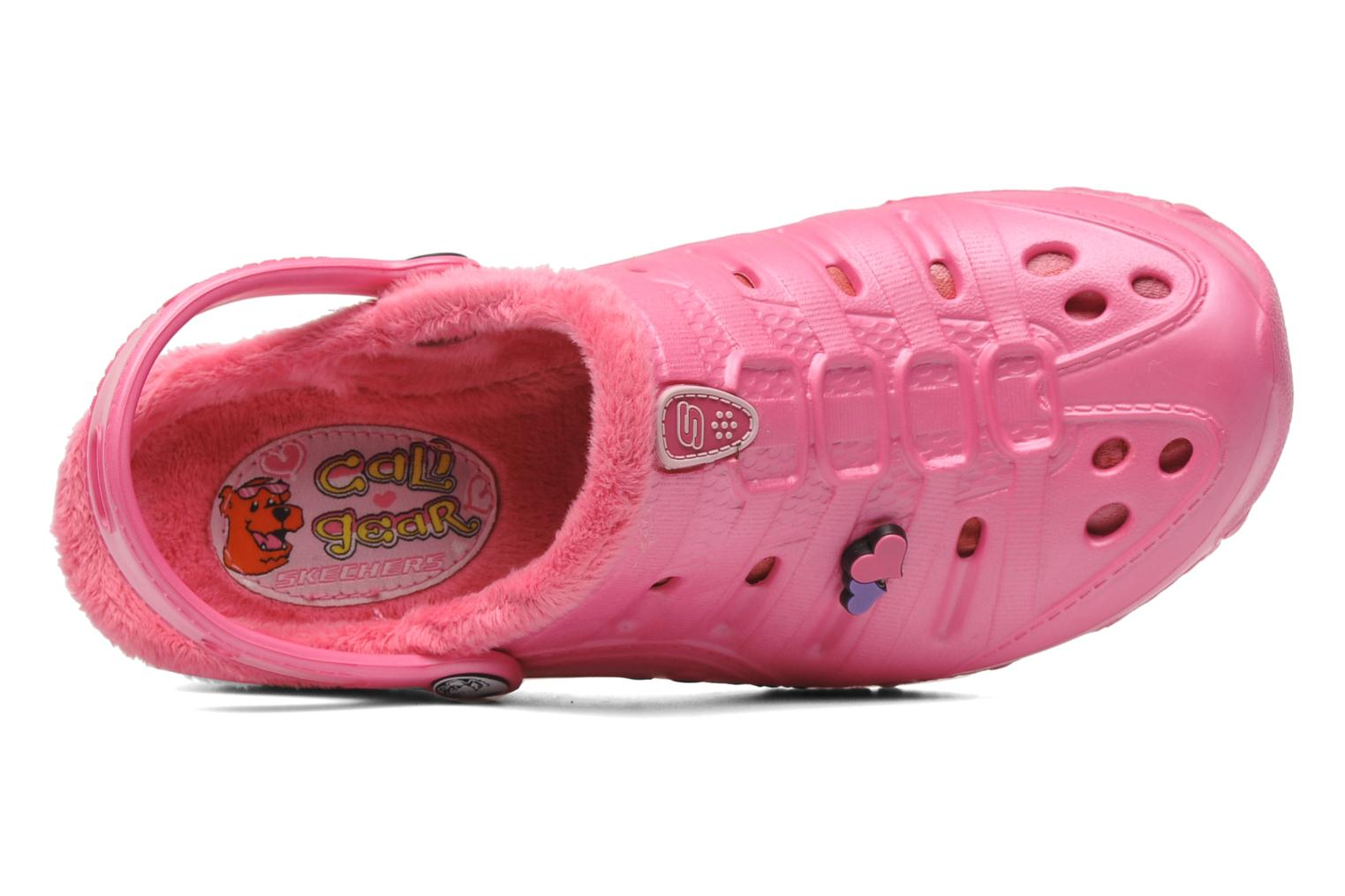Sandals Skechers Cali Gear Darling E Pink view from the left