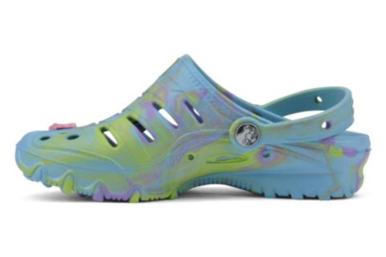 Sandalen Skechers Cali Gear Honey Blauw voorkant