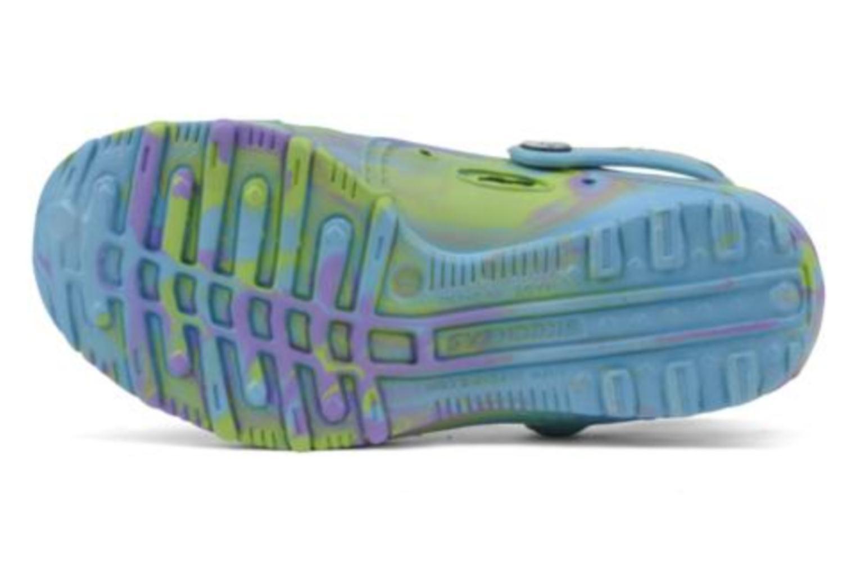 Sandales et nu-pieds Skechers Cali Gear Honey Bleu vue haut