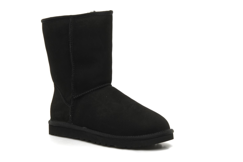 Boots en enkellaarsjes UGG Classic Short M Zwart detail