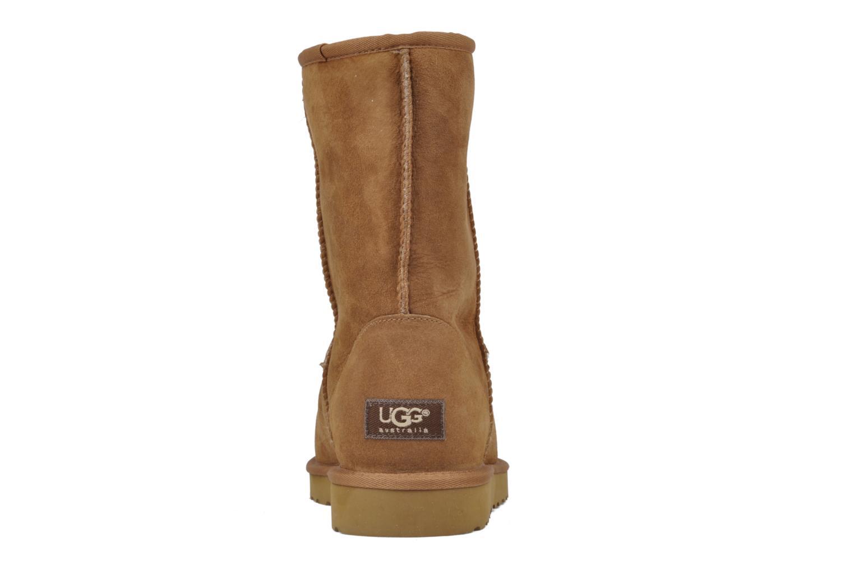 Bottines et boots UGG Classic Short M Beige vue droite