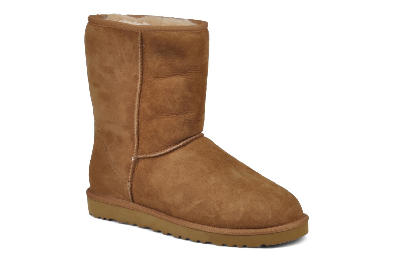 Boots en enkellaarsjes UGG Classic Short M Beige detail