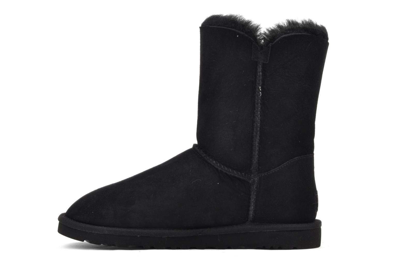Stiefeletten & Boots UGG Bailey Button schwarz ansicht von vorne