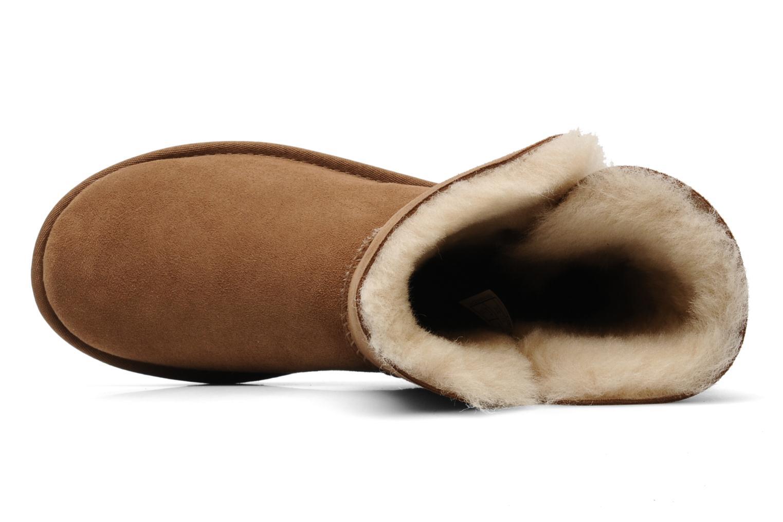 Stiefeletten & Boots UGG Bailey Button braun ansicht von links