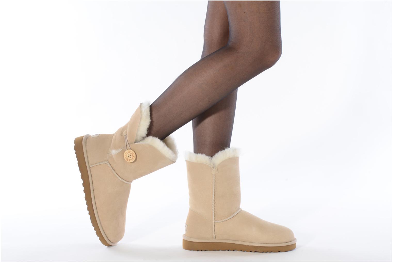 Boots en enkellaarsjes UGG Bailey Button Beige onder