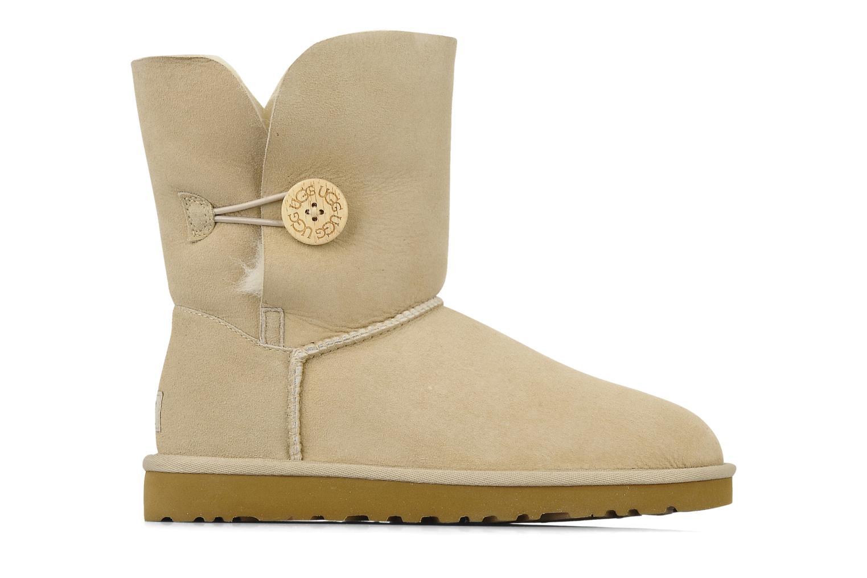 Boots en enkellaarsjes UGG Bailey Button Beige achterkant