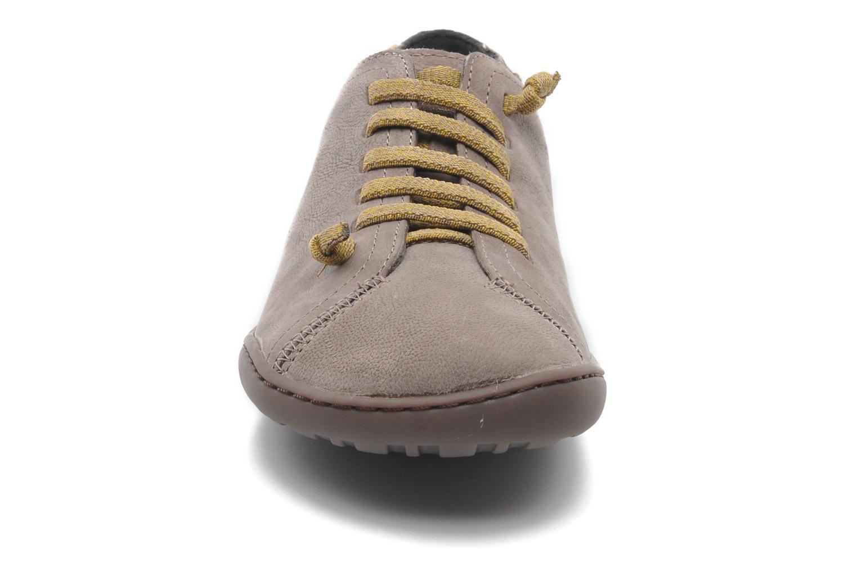 Baskets Camper Peu Cami 20848 Beige vue portées chaussures
