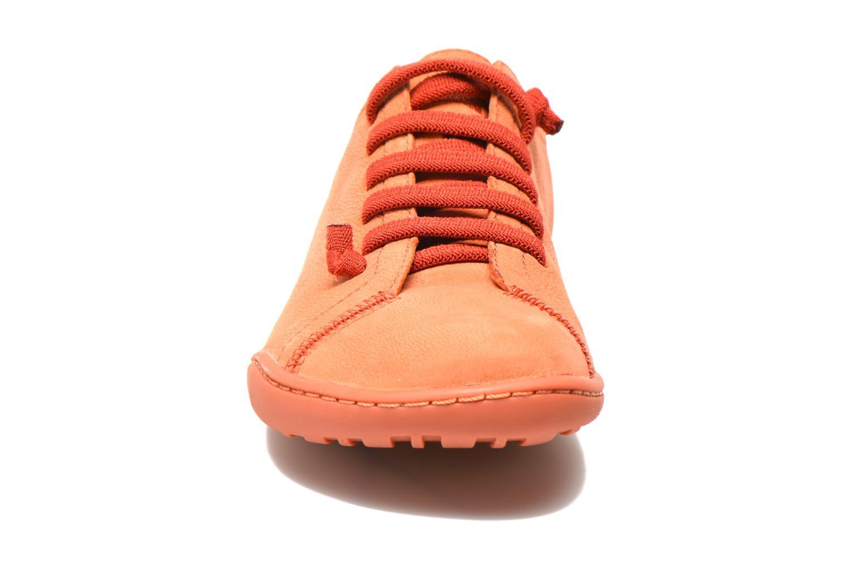Baskets Camper Peu Cami 20848 Rose vue portées chaussures