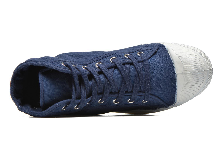 Sneaker Bensimon Tennis Mid H blau ansicht von links
