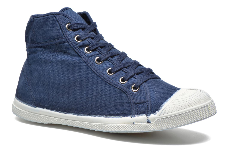 Sneaker Bensimon Tennis Mid H blau detaillierte ansicht/modell