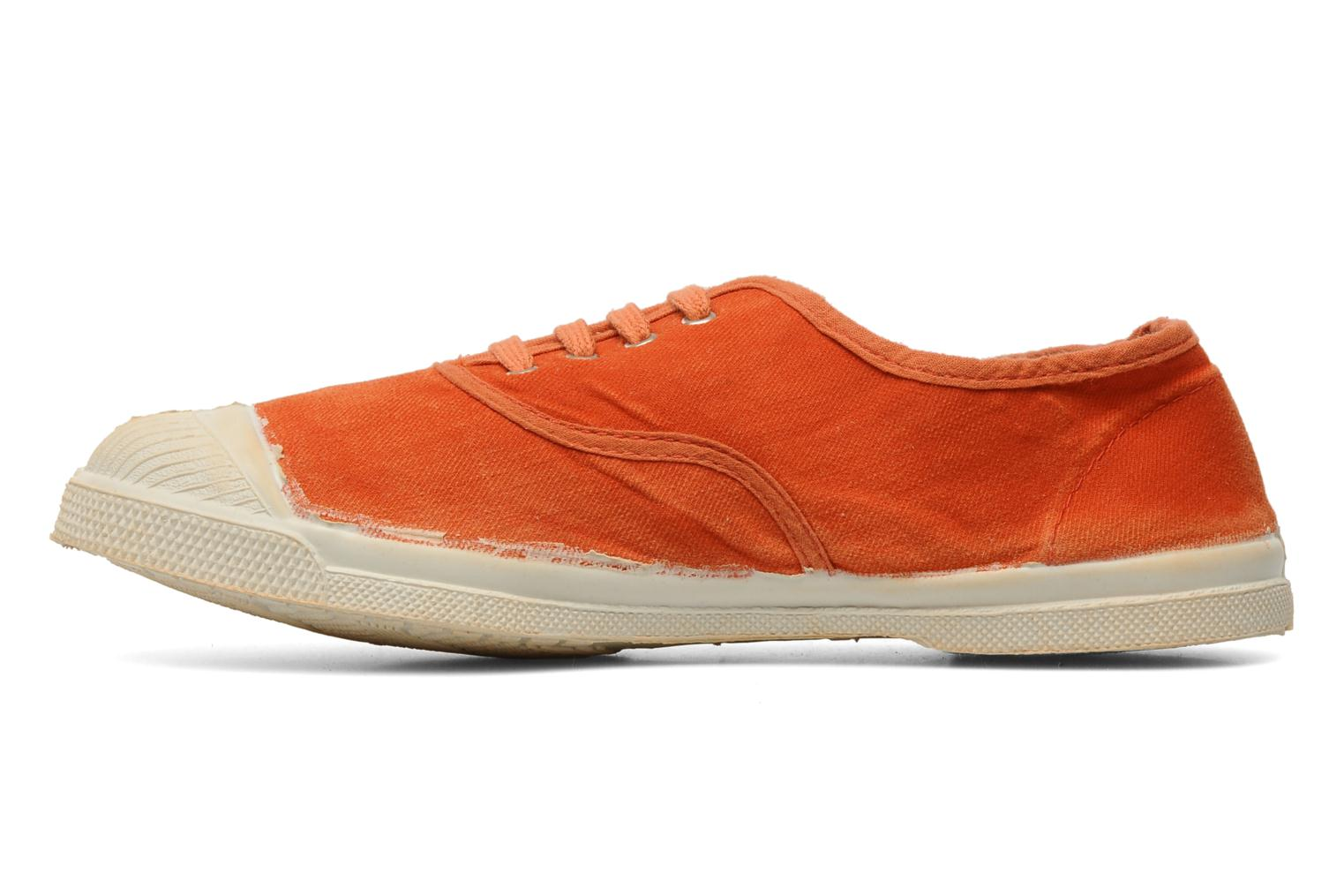 Baskets Bensimon Tennis Vintage F Orange vue face