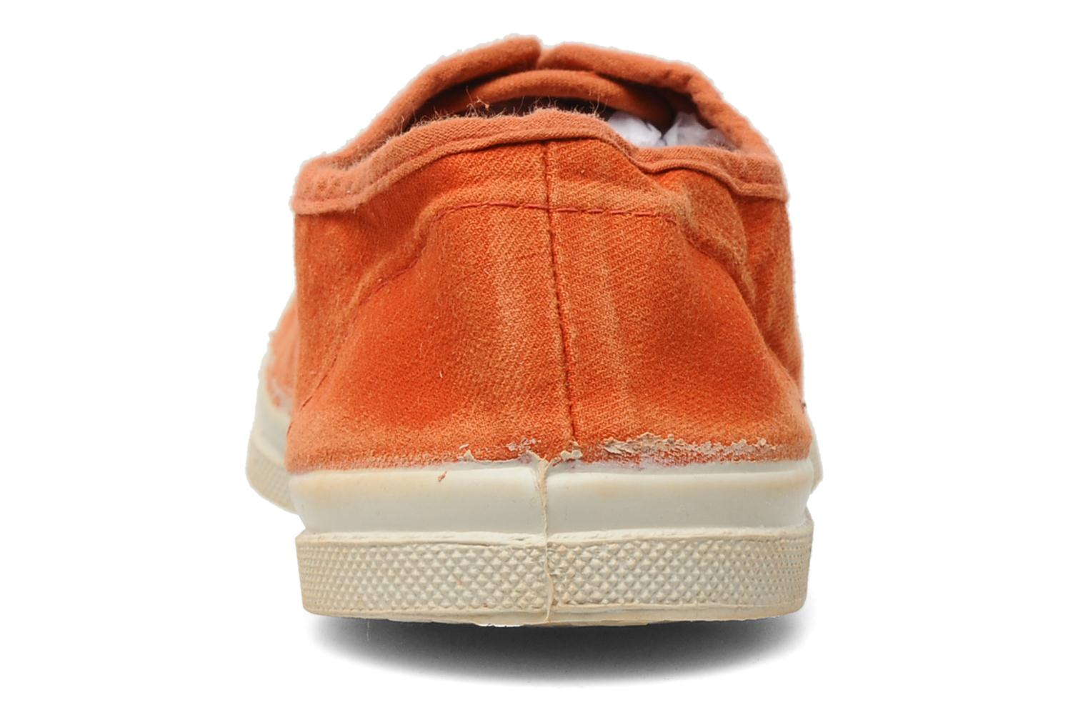 Baskets Bensimon Tennis Vintage F Orange vue droite
