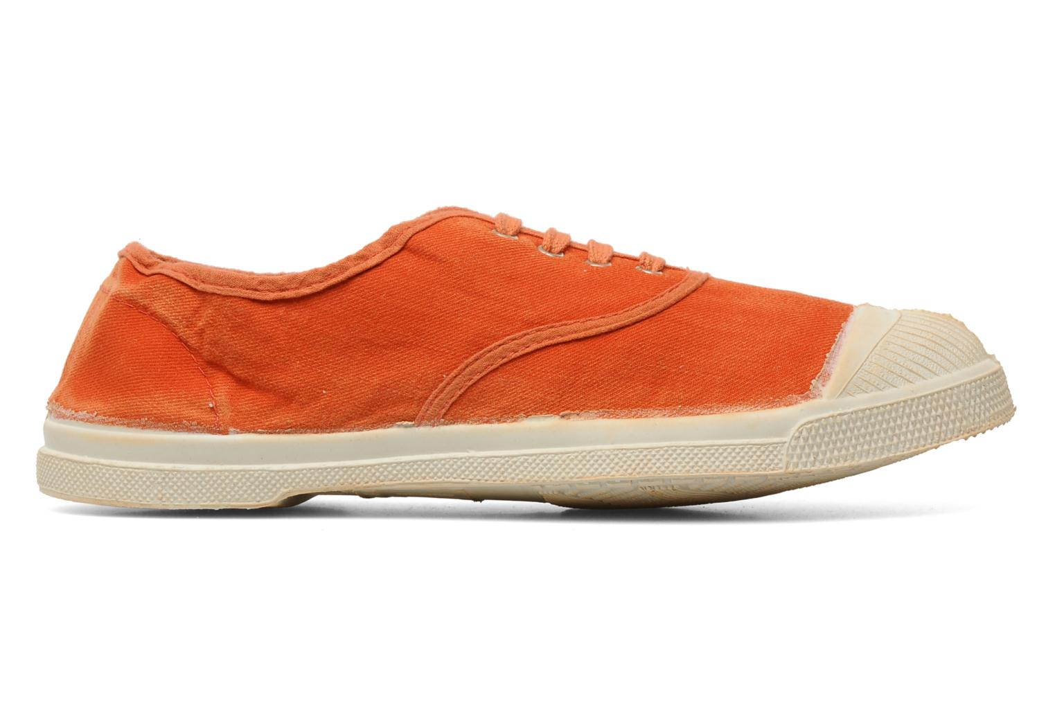 Baskets Bensimon Tennis Vintage F Orange vue derrière