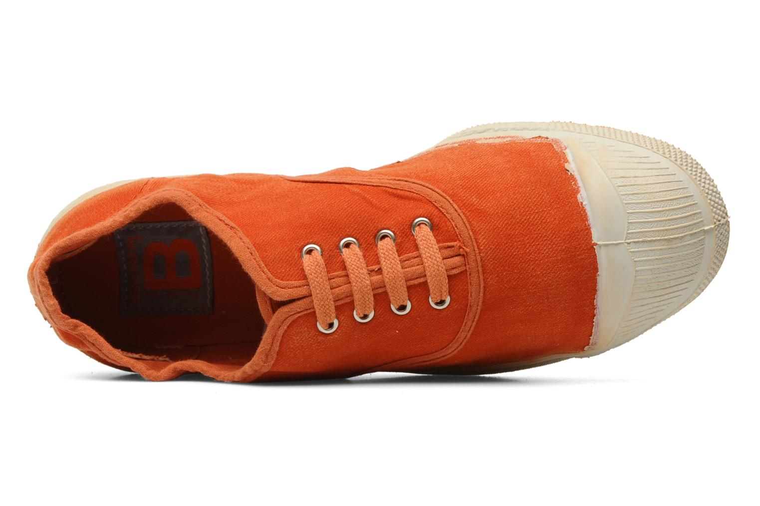 Baskets Bensimon Tennis Vintage F Orange vue gauche