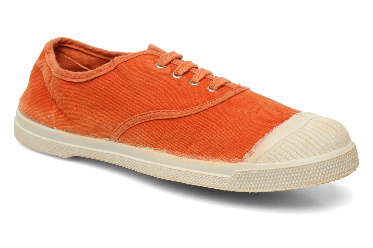Baskets Bensimon Tennis Vintage F Orange vue détail/paire