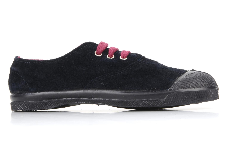 Sneakers Bensimon Tennis Suede E Blå se bagfra