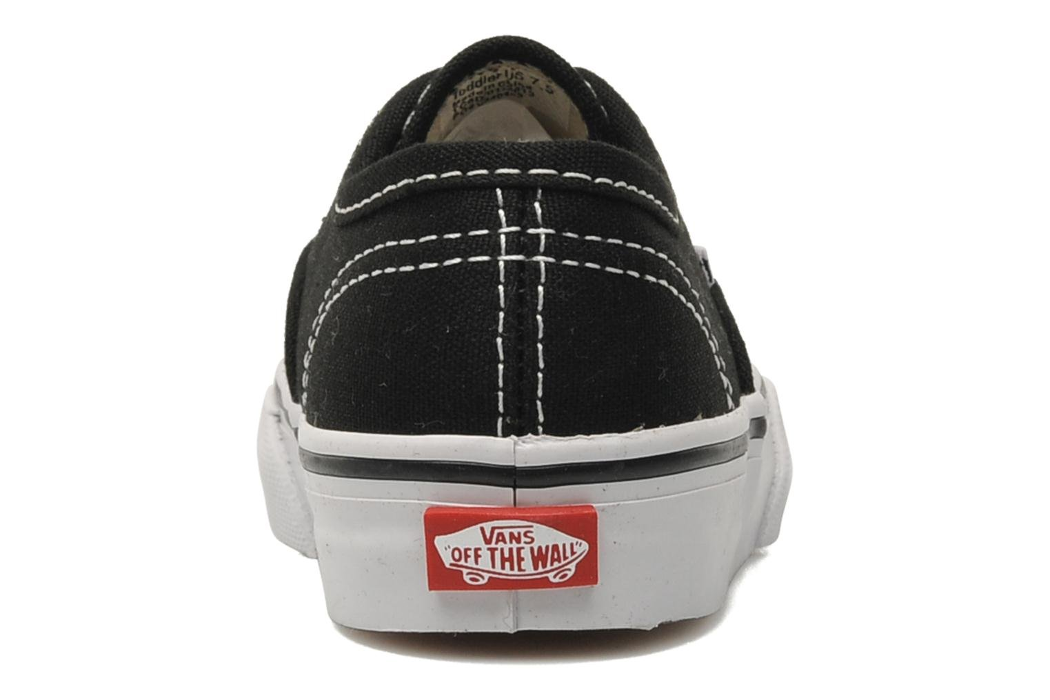 Sneakers Vans Authentic BB Zwart rechts