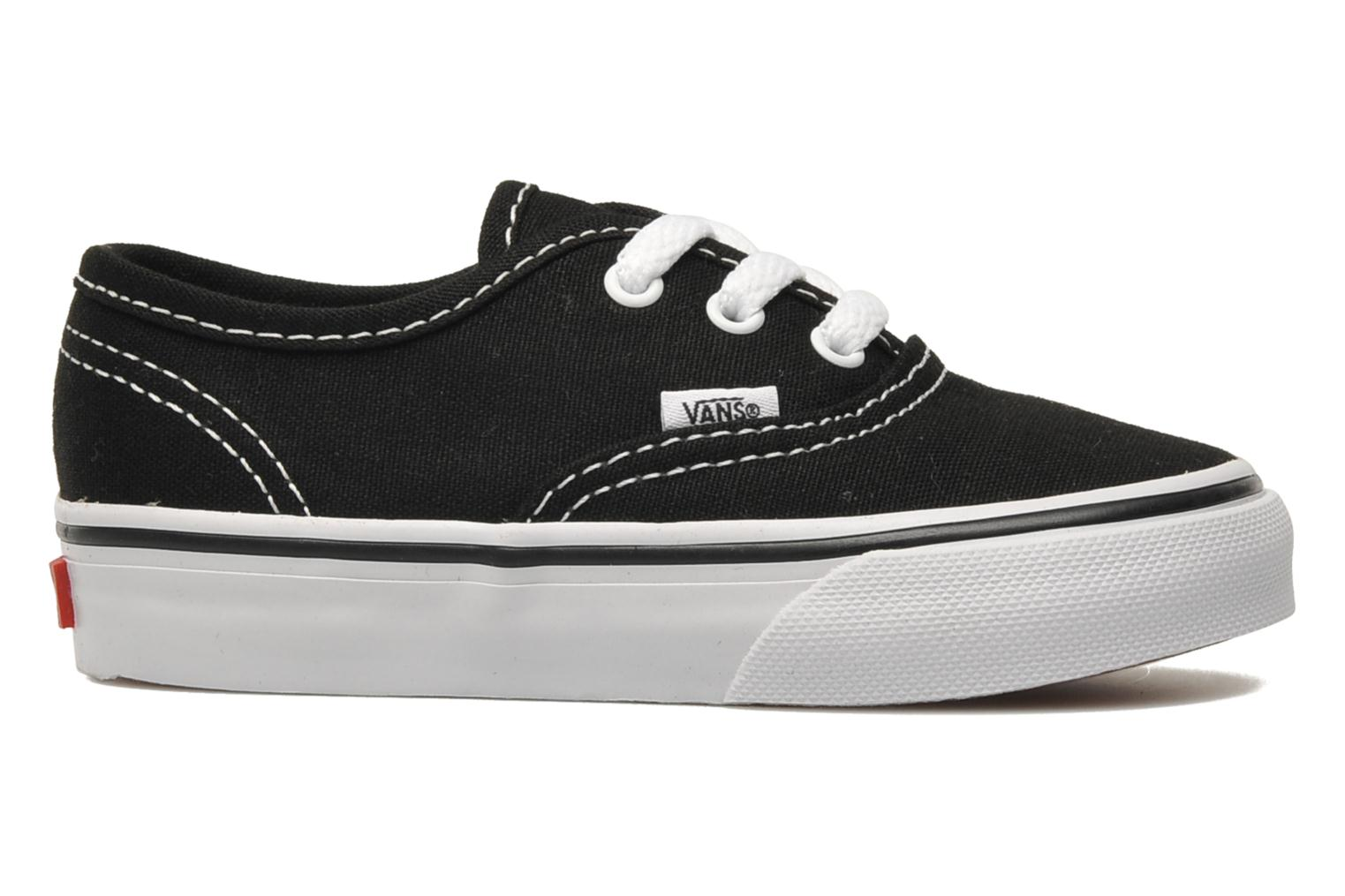 Sneakers Vans Authentic BB Zwart achterkant