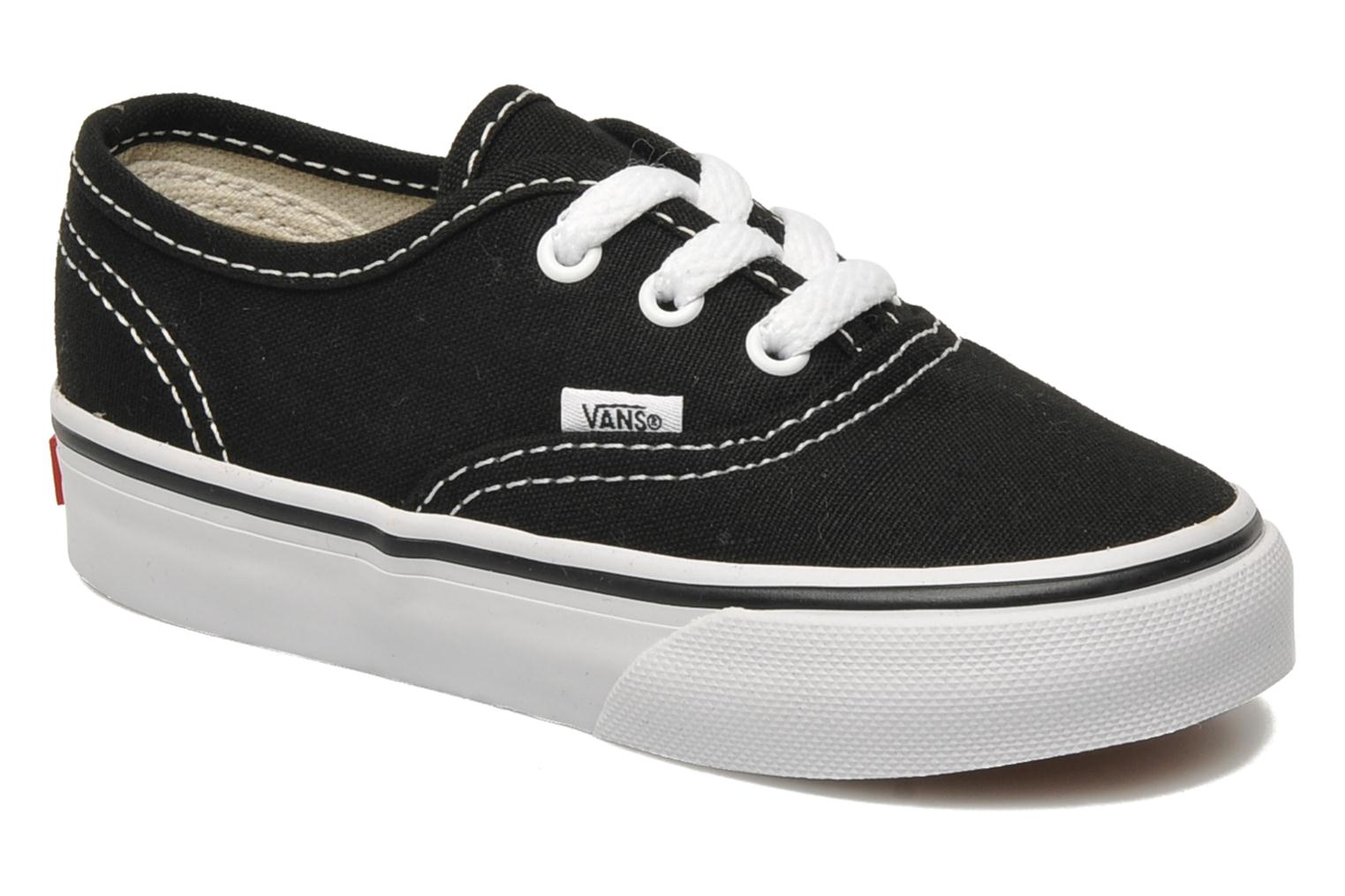 Sneakers Vans Authentic BB Zwart detail