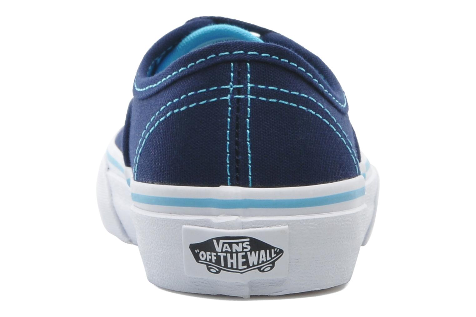 Baskets Vans Authentic BB Bleu vue droite