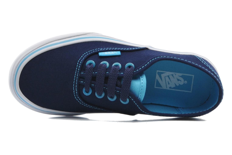 Baskets Vans Authentic BB Bleu vue gauche