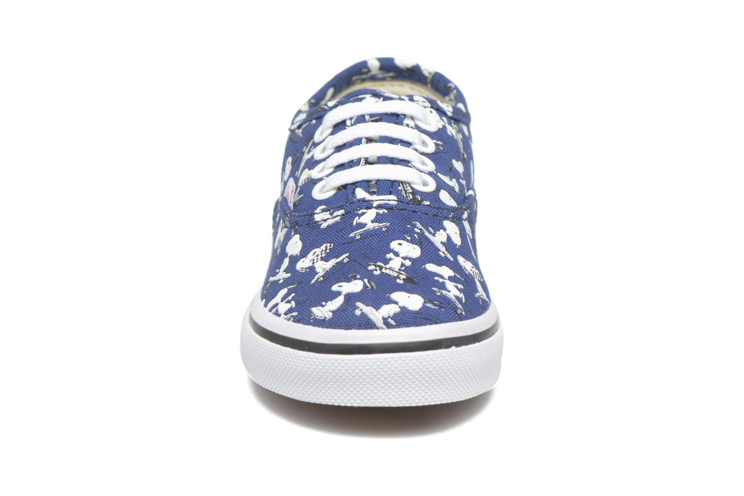 Deportivas Vans Authentic BB Azul vista del modelo