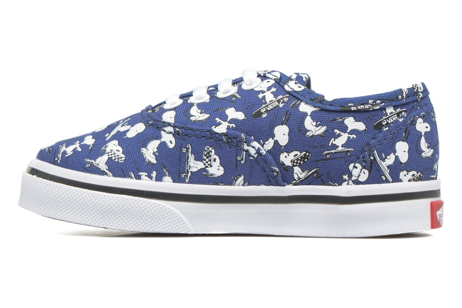 Baskets Vans Authentic BB Bleu vue face