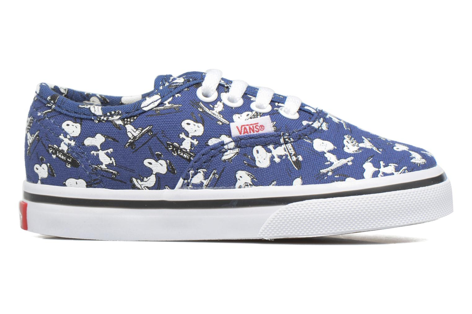 Baskets Vans Authentic BB Bleu vue derrière
