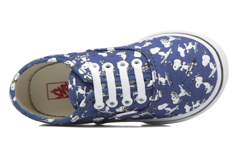 Sneaker Vans Authentic BB blau ansicht von links