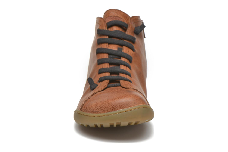 Sneaker Camper Peu Cami 36411 braun schuhe getragen