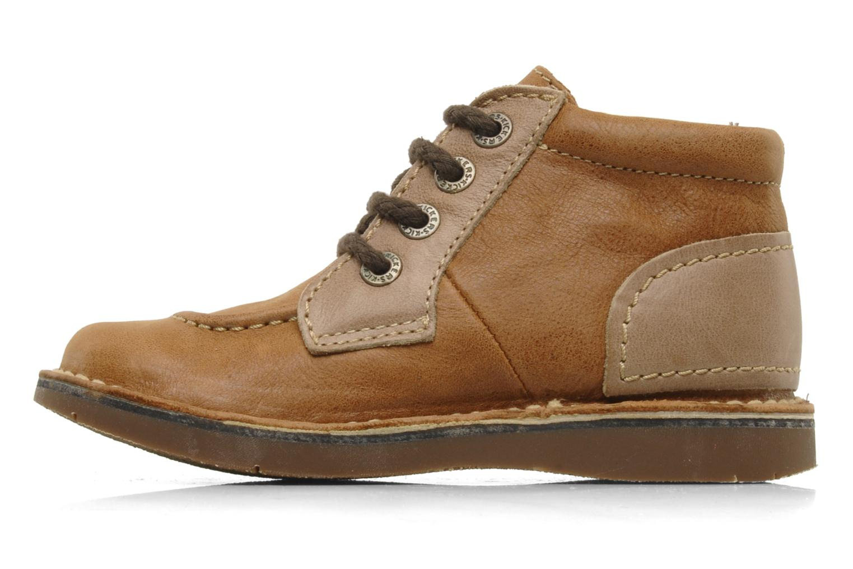 Stiefeletten & Boots Kickers World braun ansicht von vorne