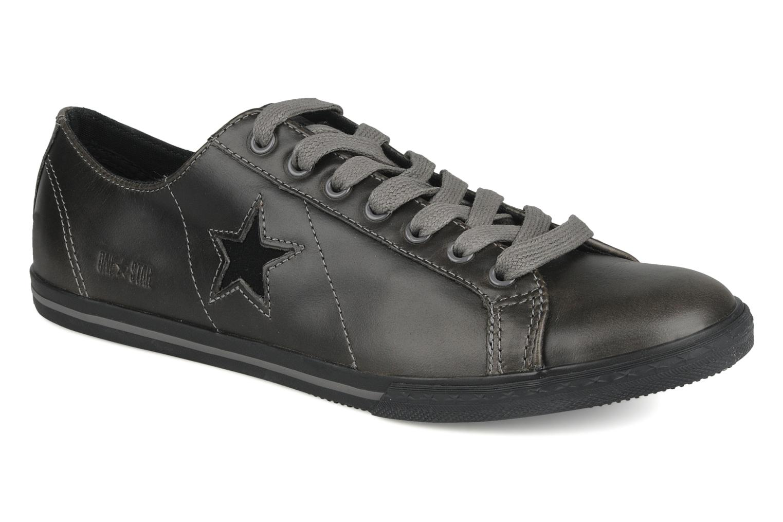 90a1b45aa2ed80 Trainers Converse One Star Low Profile Ox M Grey detailed view  Pair view