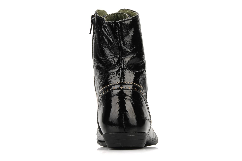 Bottines et boots Kickers Edwin Noir vue droite