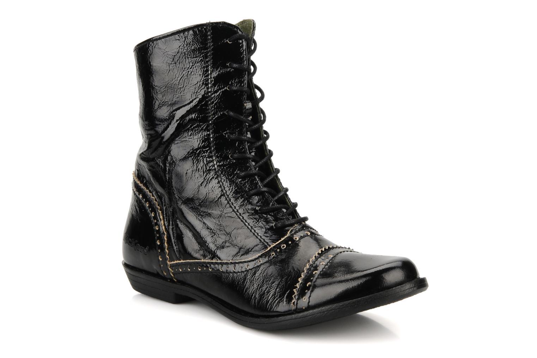 Bottines et boots Kickers Edwin Noir vue détail/paire