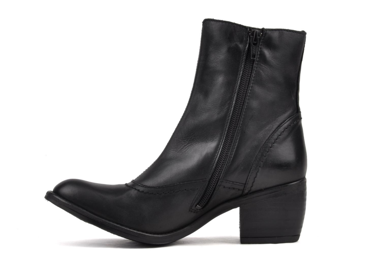 Boots en enkellaarsjes Kickers Utah Zwart voorkant