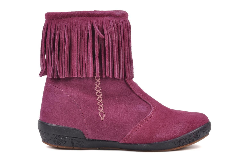 Boots en enkellaarsjes Naturino Katel Roze achterkant